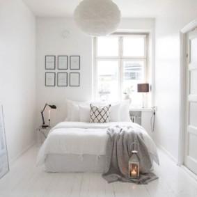 белая спальня виды идеи