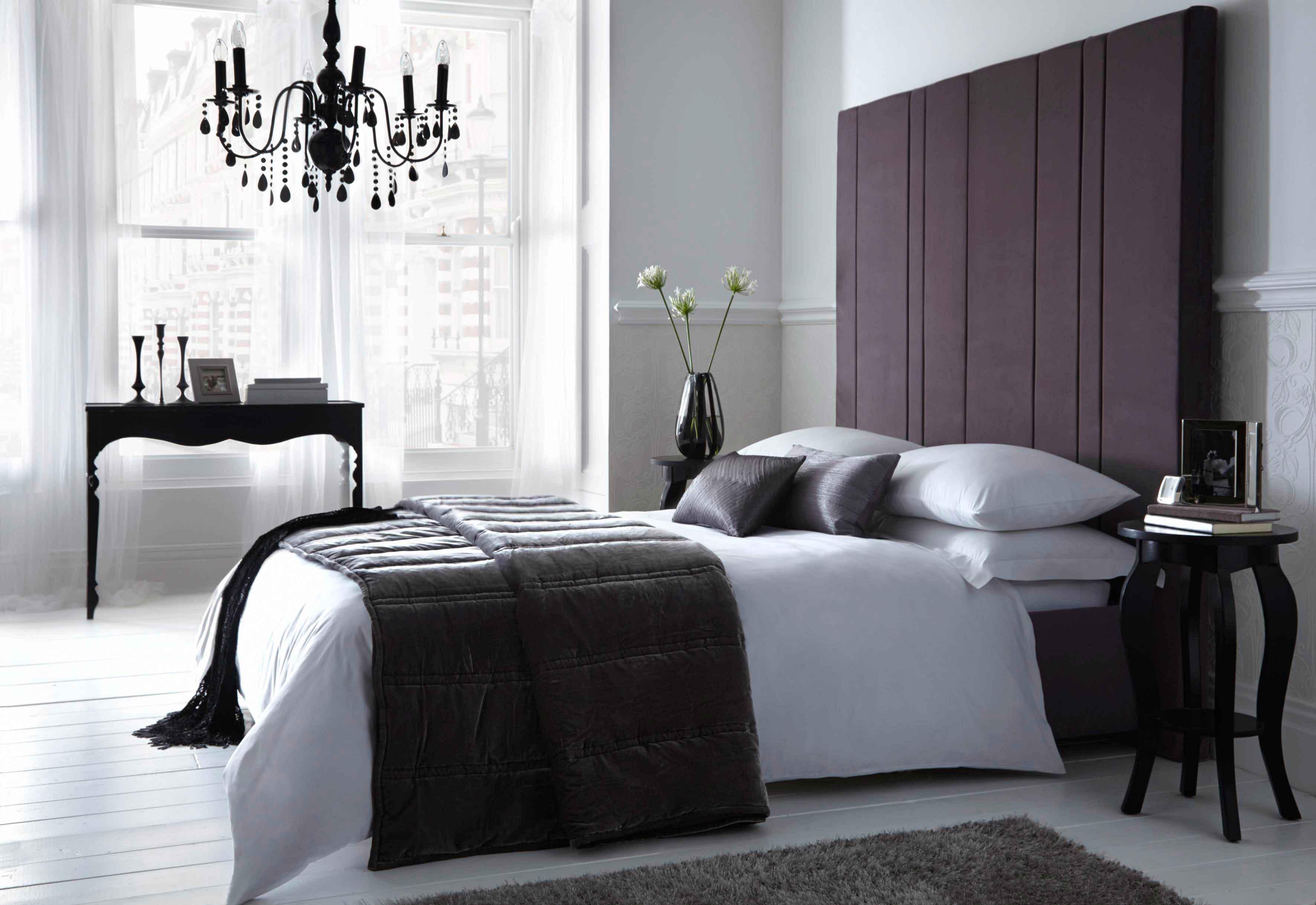 белая спальня декор