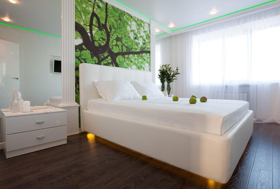 белая спальня дизайн идеи