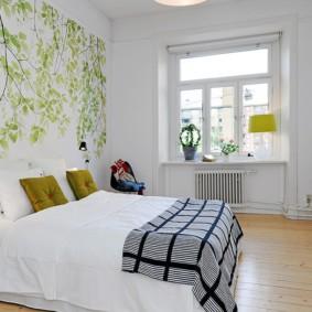 белая спальня фото декора
