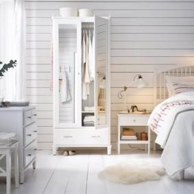 белая спальня фото дизайна