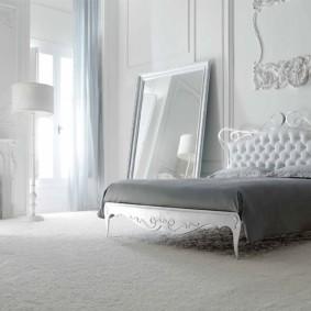 белая спальня идеи интерьер