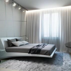 белая спальня идеи оформления