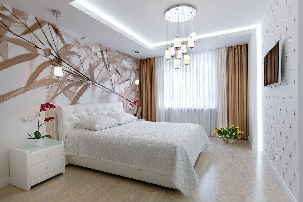 белая спальня идеи виды
