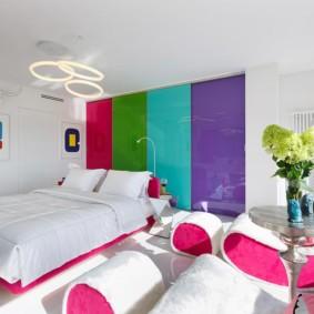 белая спальня оформление идеи