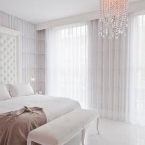 белая спальня варианты