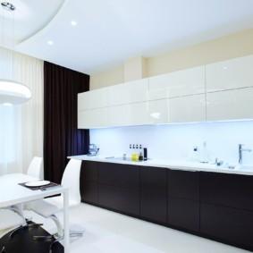 черно белая квартира варианты фото