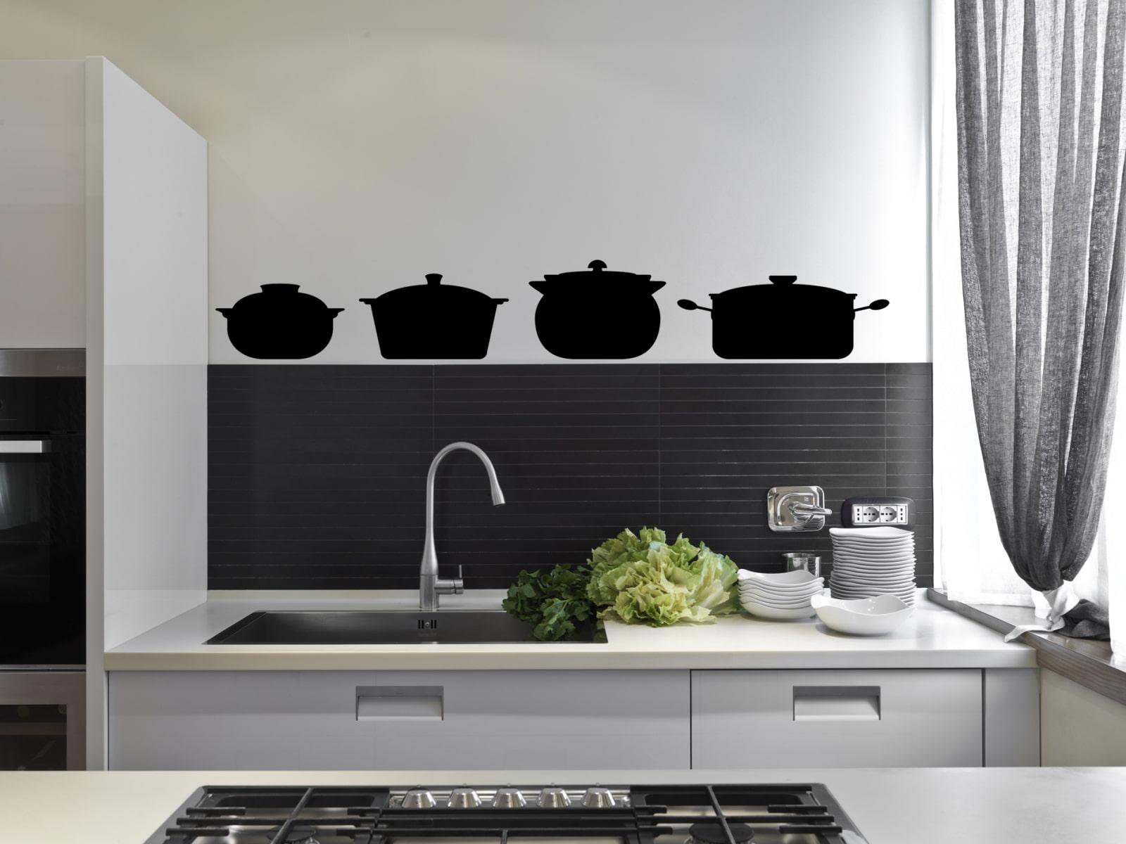 декор стен на кухне фото варианты