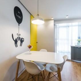 декор стен на кухне идеи дизайна