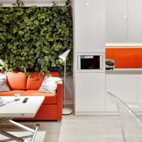 декор стен на кухне фото интерьер