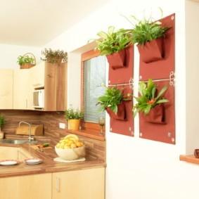 декор стен на кухне фото оформление