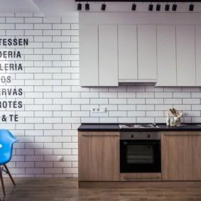 декор стен на кухне оформление идеи