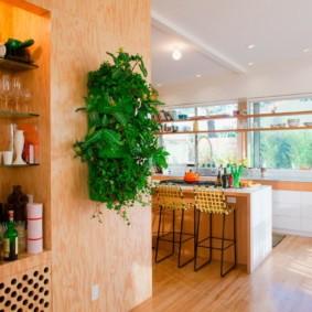 декор стен на кухне идеи варианты