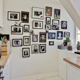 декор стен на кухне идеи вариантов