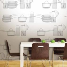 декор стен на кухне идеи видов