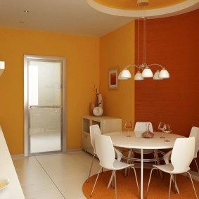 декор стен на кухне обзор фото