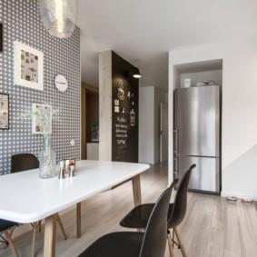 декор стен на кухне дизайн