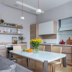 декор стен на кухне фото дизайн