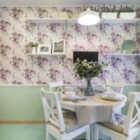 декор стен на кухне дизайн идеи