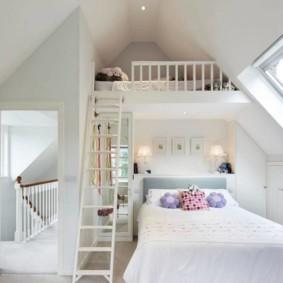 спальня и детская в одной комнате идеи фото