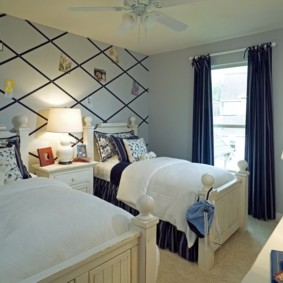 спальня и детская в одной комнате интерьер идеи