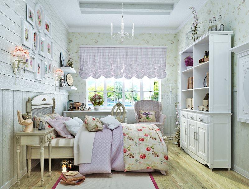 Интерьер детской в стиле прованс для мальчика
