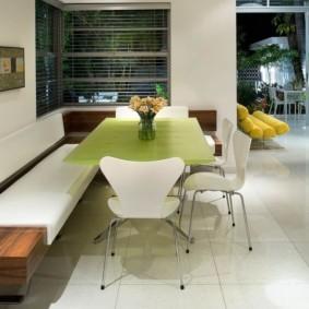 диван кушетка для кухни фото оформление