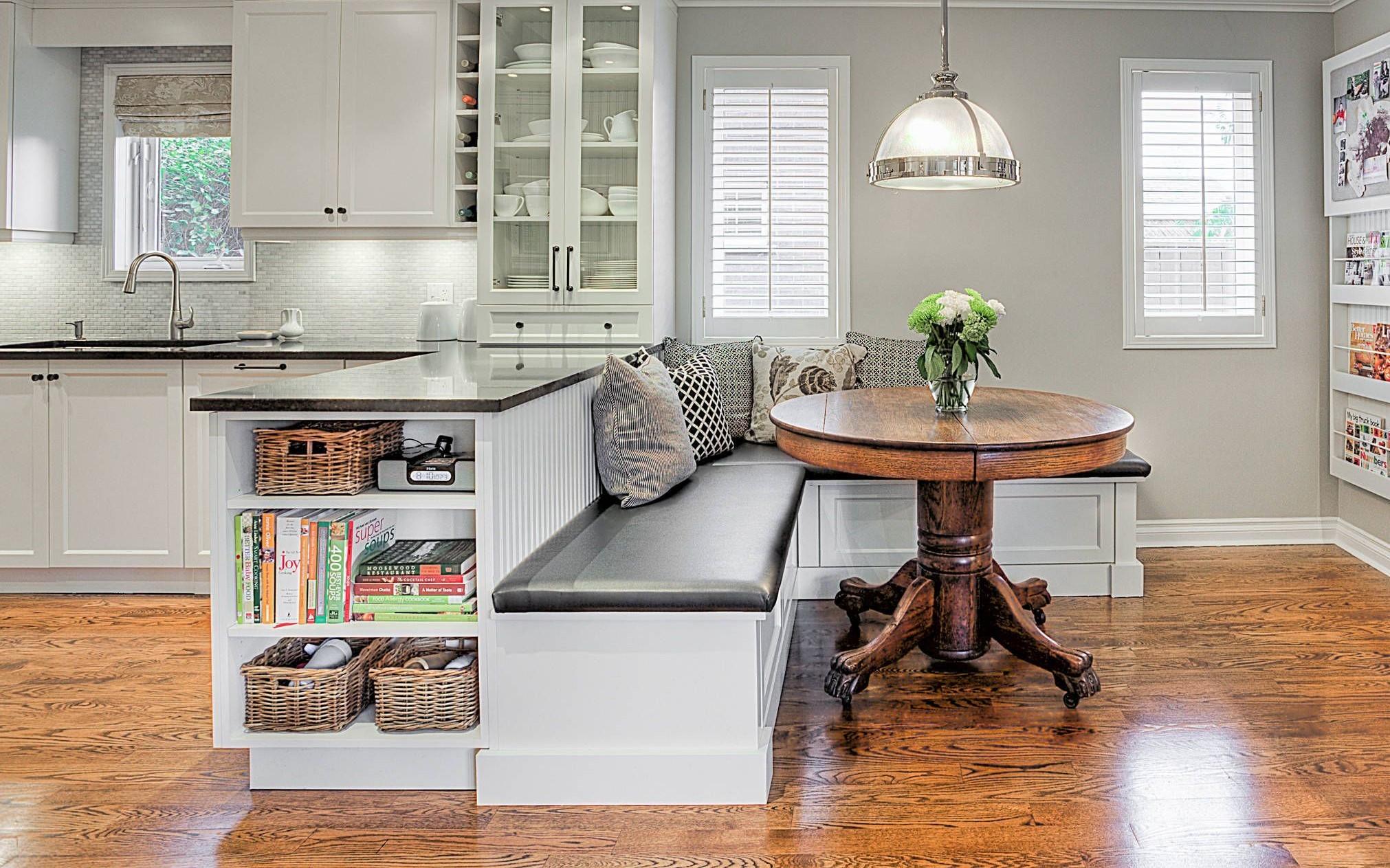 диван кушетка для кухни идеи фото