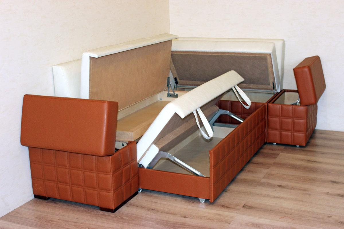 диван кушетка для кухни оформление фото