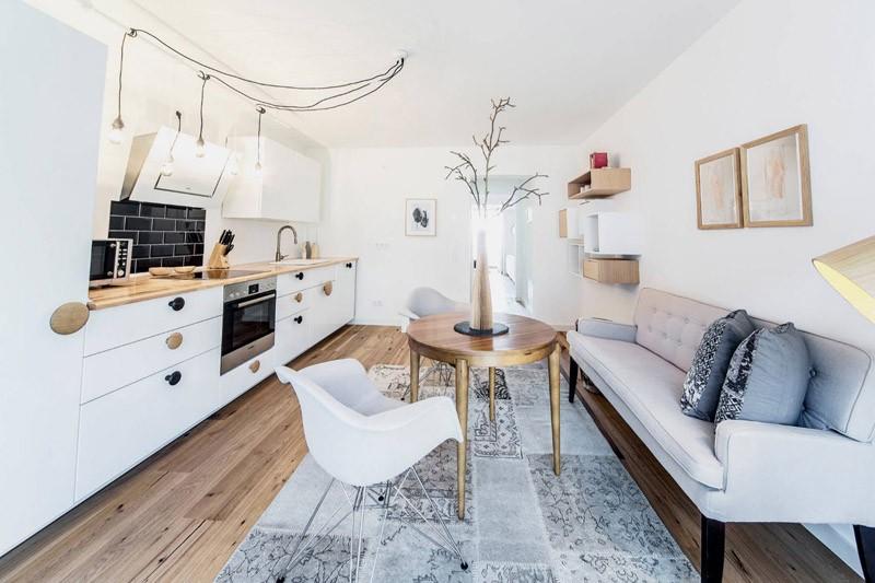 диван кушетка для кухни оформление