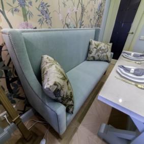 диван кушетка для кухни виды фото