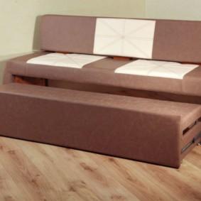 диван кушетка для кухни интерьер фото