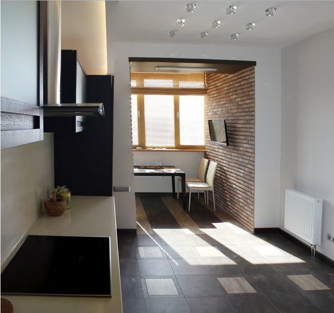 настроения как совместить кухню с балконом фото аргентины была