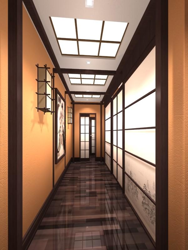 дизайн для узкого длинного коридора