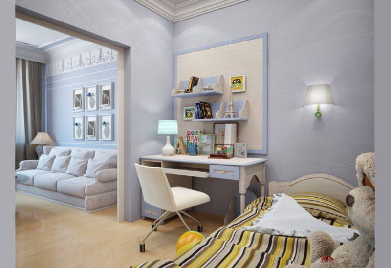 гостиная с детской в одной комнате