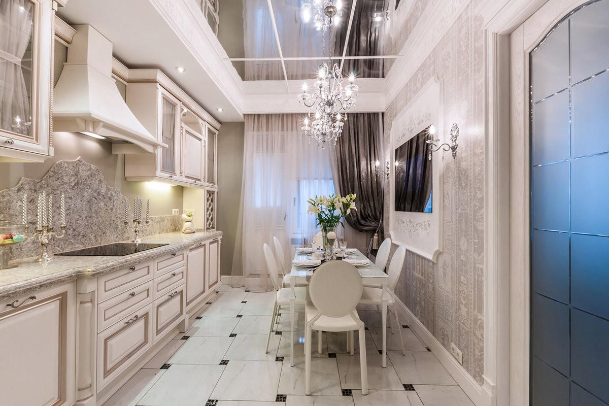 дизайн кухни 2019 классика