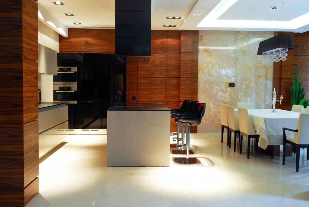 кухня в загородном доме дизайн интерьера