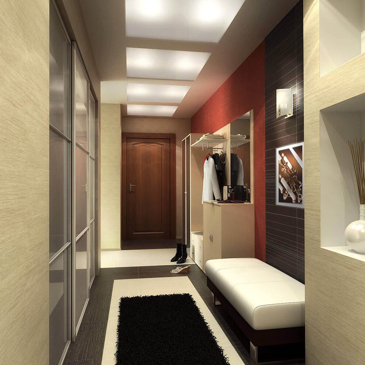 дизайн коридора виды