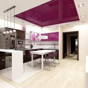 дизайн кухни с аркой фото виды