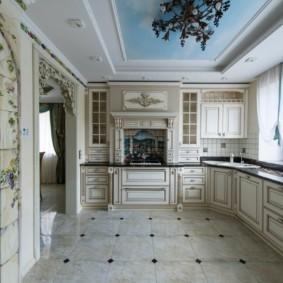 дизайн кухни с аркой виды декора
