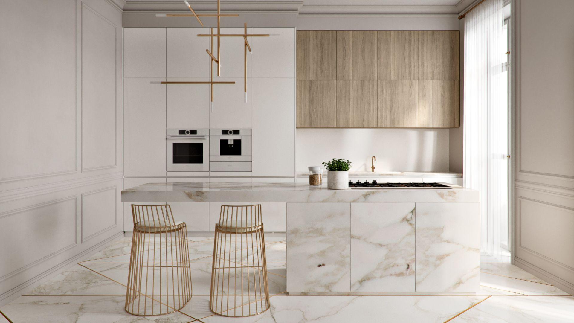 дизайн кухни 2019 минимализм