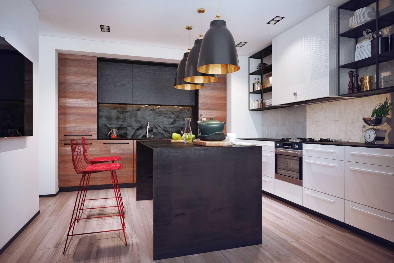 дизайн кухни 2019 современный