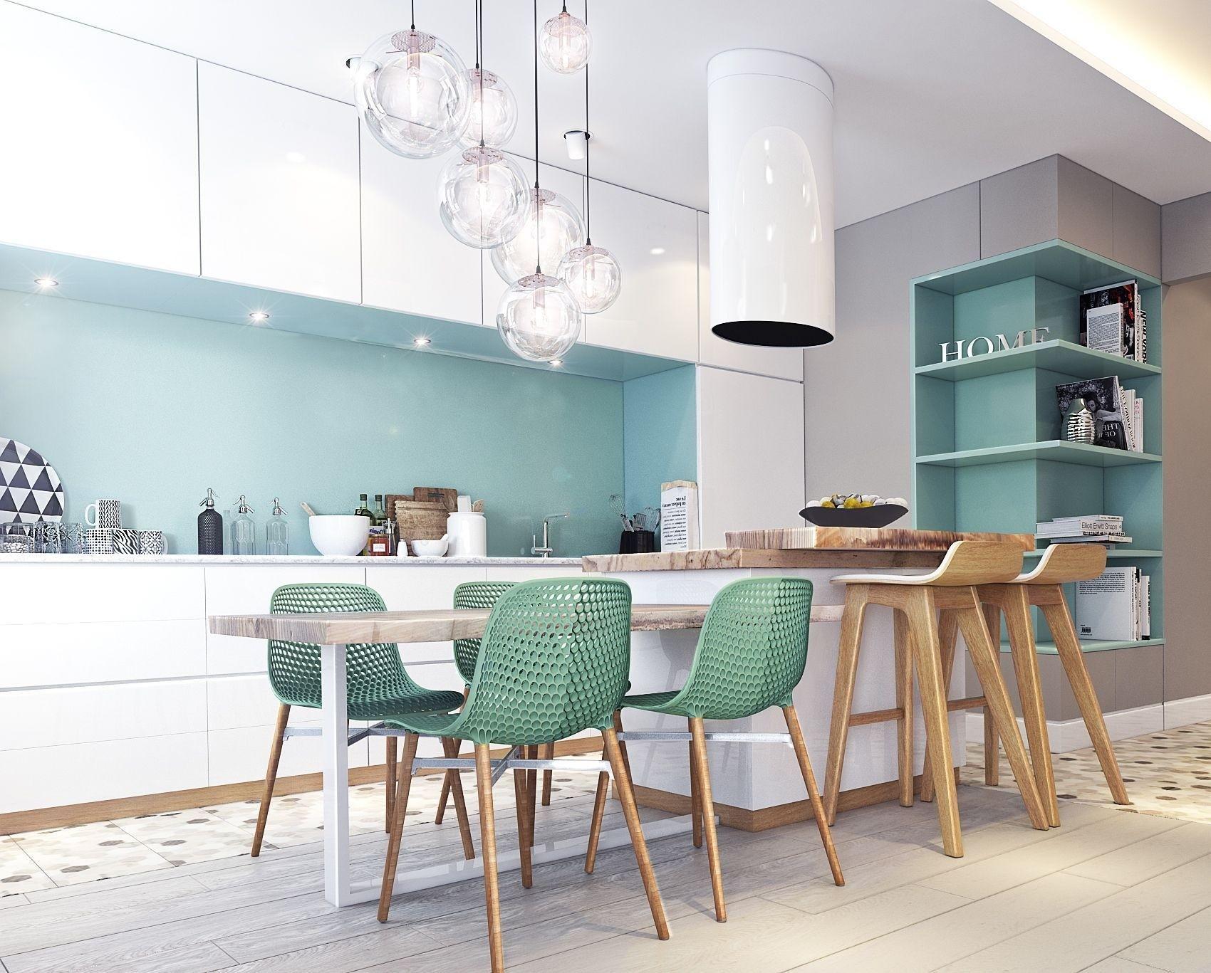 дизайн кухни 2019