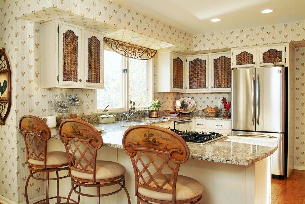 кухня в загородном доме фото декора