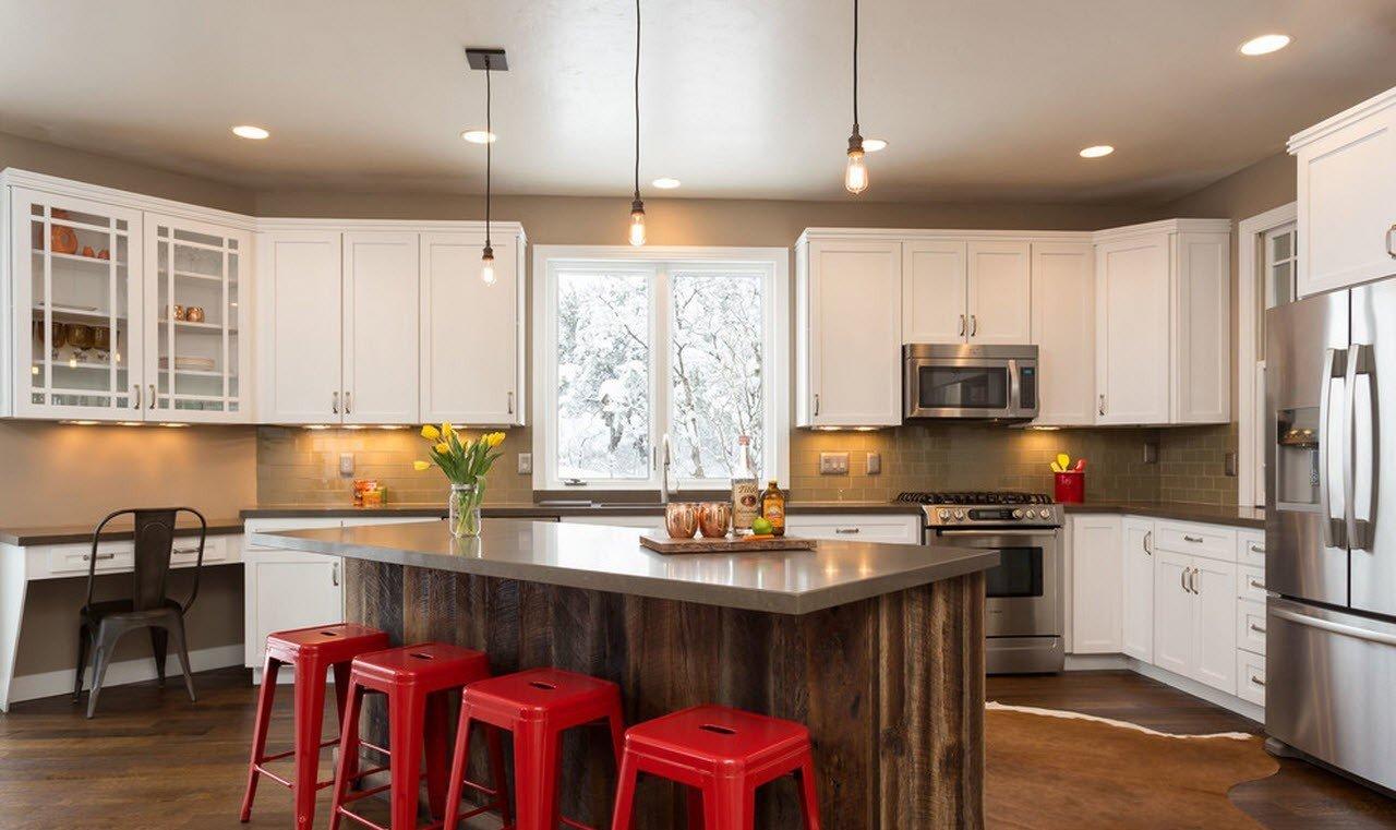 кухня в загородном доме идеи декора