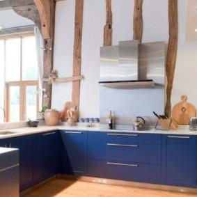 кухня в загородном доме идеи интерьер