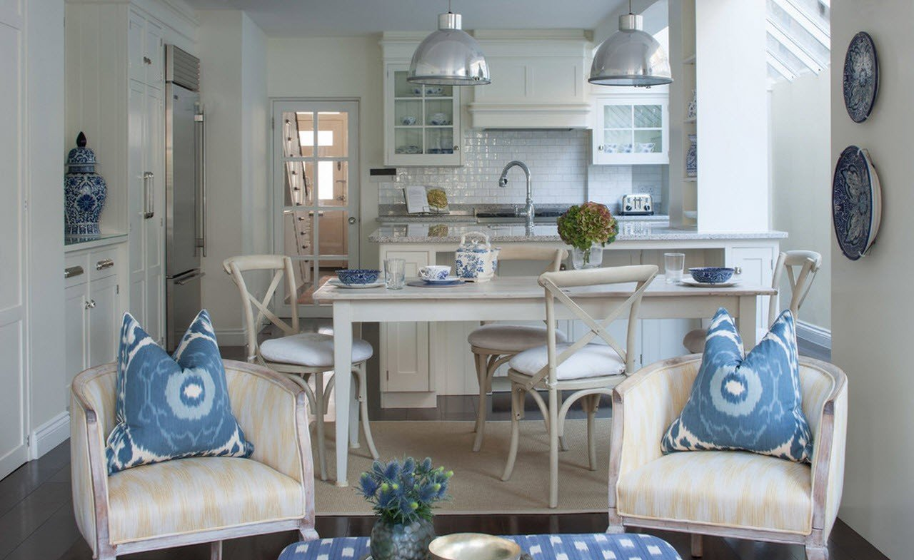 кухня в загородном доме идеи