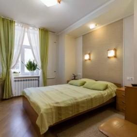 спальня 10 кв метров освещение