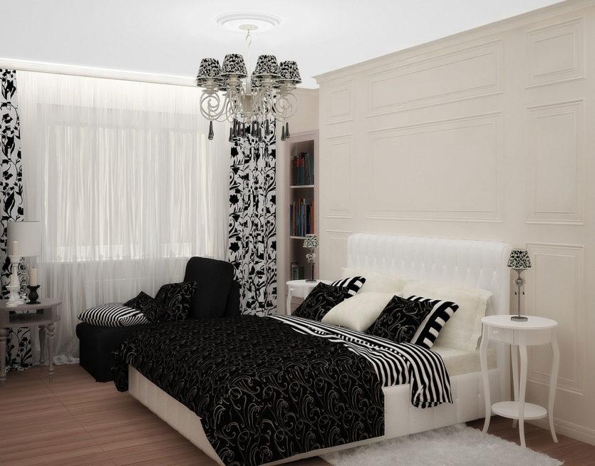 спальня 10 кв м идеи фото