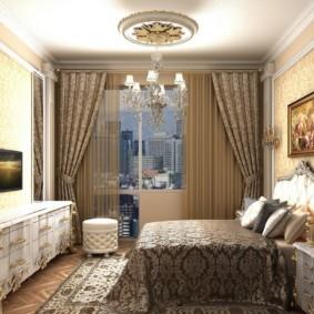 дизайн спальни 12 кв м фото варианты